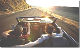 couple drivingcar
